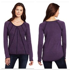 Calvin Klein Jeans Purple Chunky Knit Sweater M